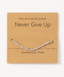 ninon/Morse Codeブレスレット/503358147