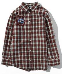 DIESEL/DIESEL(ディーゼル) Kids & Junior ワッペンデザインチェックシャツ【正規輸入品】/503358175