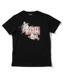 DIESEL/DIESEL(ディーゼル)Kids & Junior レディースプリント半袖Tシャツ/カットソー/503358200
