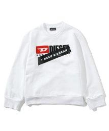 DIESEL/DIESEL(ディーゼル)Kids & Junior プリント長袖スウェット/カットソー/503358209