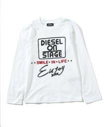 DIESEL/DIESEL(ディーゼル)Kids & Junior ロングTシャツ/ロンT/カットソー【正規輸入品】/503358212