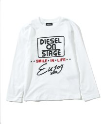 DIESEL/DIESEL(ディーゼル)Kids & Junior ロングTシャツ/ロンT/カットソー/503358212