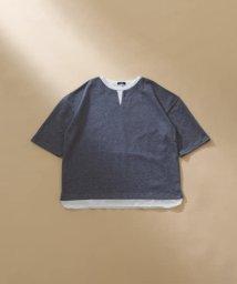 ITEMS URBANRESEARCH/フェイクレイヤードビッグTシャツ/503358871