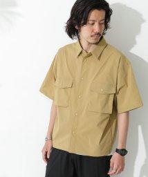 URBAN RESEARCH Sonny Label/マルチファンクション半袖オーバーシャツ/503359315