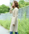 Willful by lipstar/シアー強撚リブニットカーディガン/503310988