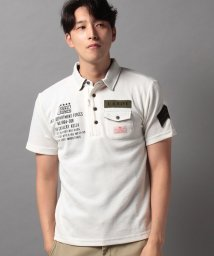 STYLEBLOCK/スラブカノコミリタリー半袖ポロシャツビジネスカジュアル/503325939