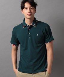 STYLEBLOCK/カノコ1ポイント刺繍2枚襟半袖ポロシャツビジネスカジュアル/503325942