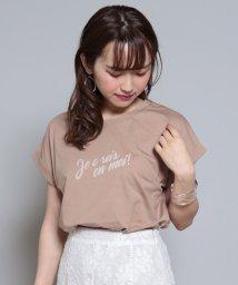 Cheek/je crois en moiプリントTシャツ/503331465