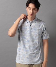 STYLEBLOCK/タックボーダー裏プリント1ポイント刺繍半袖ポロシャツビジネスカジュアル/503342866