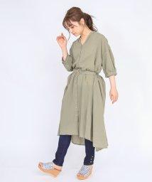 axes femme/半袖ロングシャツ/503351197