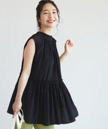 coca/バックリボン裾フリルカットソー/503356269