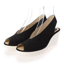 EU Comfort Shoes/ヨーロッパコンフォートシューズ EU Comfort Shoes サンダルパンプス (ブラック)/503356531