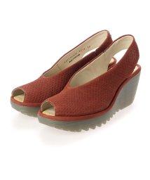 EU Comfort Shoes/ヨーロッパコンフォートシューズ EU Comfort Shoes サンダルパンプス (レッド)/503356533