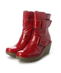 EU Comfort Shoes/ヨーロッパコンフォートシューズ EU Comfort Shoes ショートブーツ (レッド)/503356537