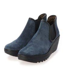 EU Comfort Shoes/ヨーロッパコンフォートシューズ EU Comfort Shoes ショートブーツ (ブルー)/503356551