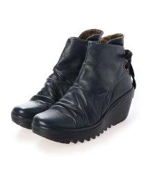EU Comfort Shoes/ヨーロッパコンフォートシューズ EU Comfort Shoes ショートブーツ (ネイビー)/503356571