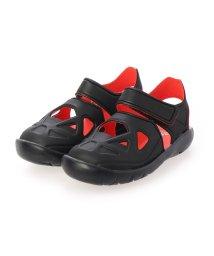 adidas/アディダス adidas FORTASWIM 2 C キッズサンダル【超軽量】 フォルタスウィム2C DB0486 (ブラック)/503357433