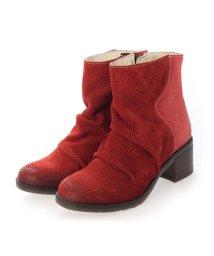 EU Comfort Shoes/ヨーロッパコンフォートシューズ EU Comfort Shoes ショートブーツ (レッド)/503357449