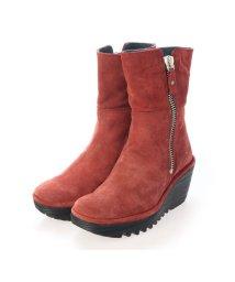 EU Comfort Shoes/ヨーロッパコンフォートシューズ EU Comfort Shoes ショートブーツ (レッド)/503357453