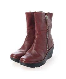 EU Comfort Shoes/ヨーロッパコンフォートシューズ EU Comfort Shoes ショートブーツ (レッド)/503357454