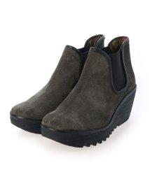 EU Comfort Shoes/ヨーロッパコンフォートシューズ EU Comfort Shoes ショートブーツ (チャコール)/503357467