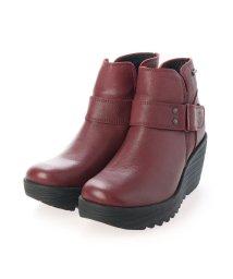 EU Comfort Shoes/ヨーロッパコンフォートシューズ EU Comfort Shoes ショートブーツ (レッド)/503357470