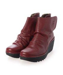 EU Comfort Shoes/ヨーロッパコンフォートシューズ EU Comfort Shoes ショートブーツ (レッド)/503357481