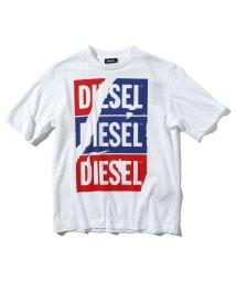 DIESEL/DIESEL(ディーゼル) Kids & Junior プリント半袖Tシャツ/カットソー【正規輸入品】/503358188