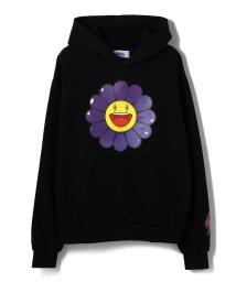 LHP/J.BALVIN x TAKASHI MURAKAMI/ジェイ・バルヴィン×村上隆/Morado Large Flower Hoodie/503359646