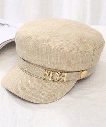 miniministore/マリンキャップ レディース キャスケット レトロ 日よけ帽子 つば付き 夏帽子 UVカット キャップ 紫外線対策/503360083