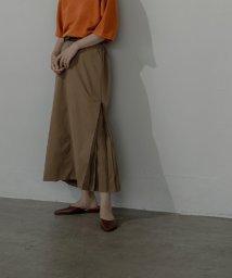 miette/サイドタックロングスカート/503360231