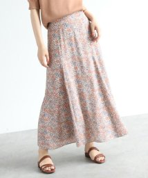 OZOC/スモールフラワーマーメイドフレアスカート/503360319