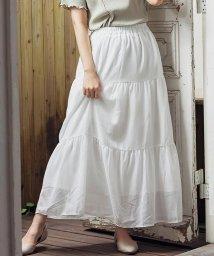 GROWINGRICH/[スカート]ガーゼティアードスカート[200343]/503361408