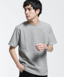 nano・universe/ブレンドカラーWジャガードTシャツ/503145056