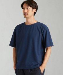 green label relaxing/SC デオセル クレープ ボートネック 半袖 Tシャツ カットソー/503301754