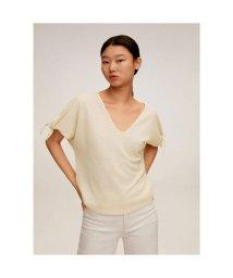 MANGO/Tシャツ .-- NUDITO (ライトベージュ)/503359431
