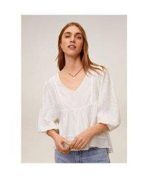 MANGO/Tシャツ .-- AZUCENA (ナチュラルホワイト)/503359436
