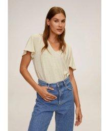 MANGO/Tシャツ .-- ELLAS (ライトベージュ)/503359443