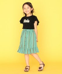 KUMIKYOKU KIDS/【150-160cm】マルチストライプスカート/503361536