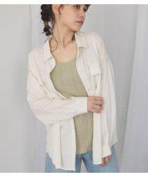 Avan Lily/リネンレーヨンシャツ/503361625