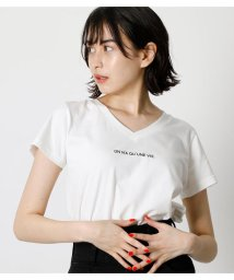 AZUL by moussy/ON N'A V NECK TEE/503361632