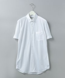 green label relaxing/【WORK TRIP OUTFITS】WTO TC ジャージ ボタンダウン 半袖シャツ<スリムフィット>/503311398