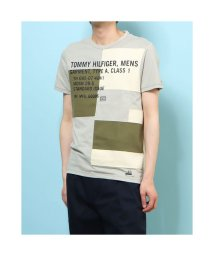 TOMMY HILFIGER/トミーヒルフィガー TOMMY HILFIGER JS PATCH TERRAIN TEE PUSSYWILLOW GRA (グレー)/503359522