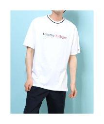TOMMY HILFIGER/トミーヒルフィガー TOMMY HILFIGER コットンロゴTシャツ (ホワイト)/503359525