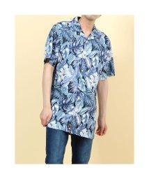 TOMMY HILFIGER/トミーヒルフィガー TOMMY HILFIGER ハワイアンプリントシャツ (ブルー)/503359538