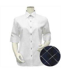 BRICKHOUSE/シャツ 五分袖 形態安定 レギュラー衿 透け防止/503361986