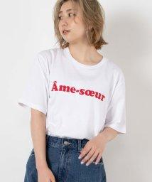 WEGO/カラーロゴプリントTシャツ2/503332416