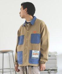 BEAMS MEN/UNIVERSAL OVERALL × BEAMS / 別注 カバー コーチ ジャケット/503334419