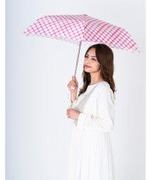 estaa/estaa(エスタ) 折りたたみ傘【水彩チェック】/503355947