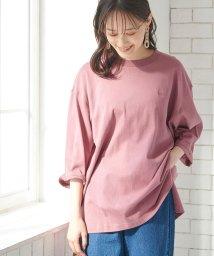ViS/【Lee×ViS】7分袖チュニックTシャツ/503363180